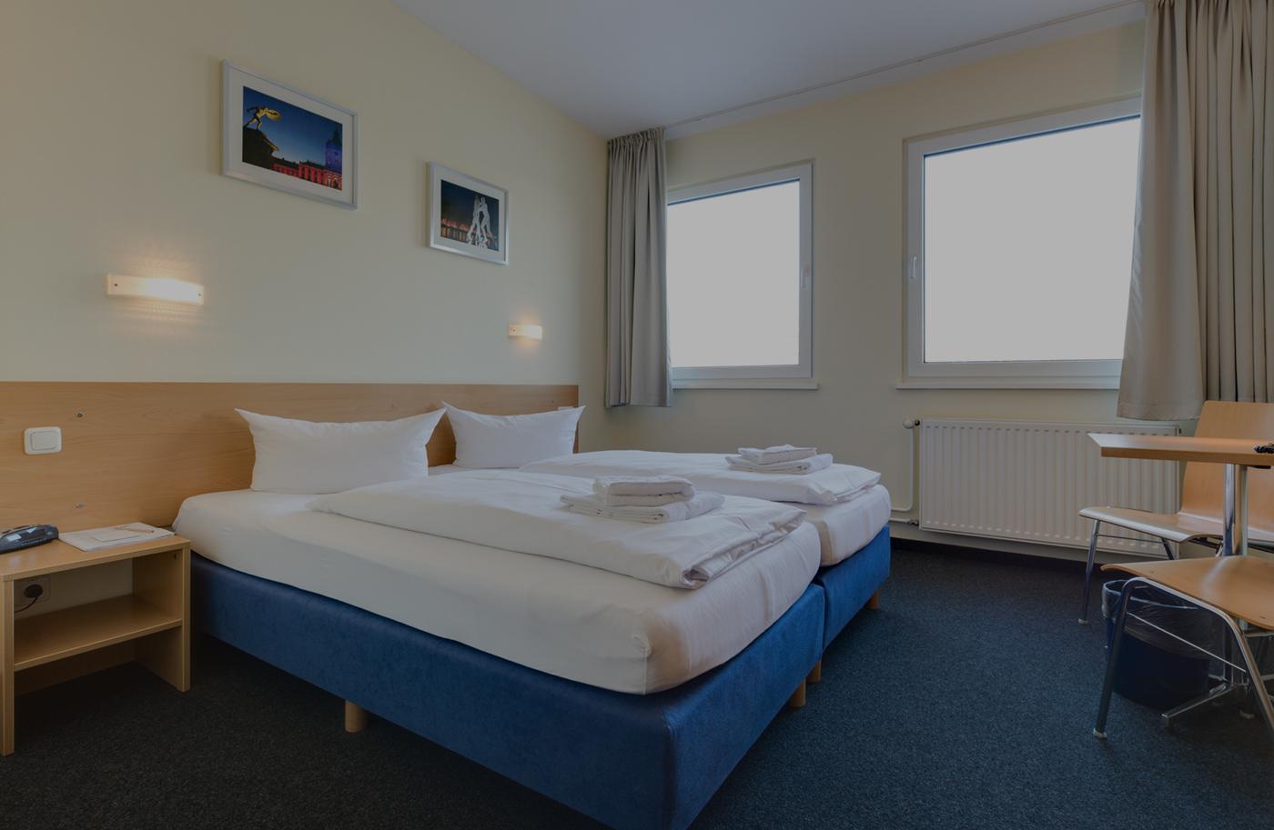 2 Bett Zimmer Citylight Hotel Berlin
